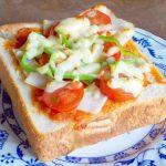 ピザ トーストはサラミとチーズの簡単ピザトースト?ベーコンポテトのピザトースト?